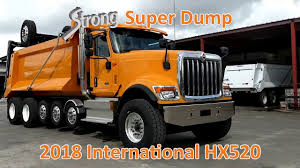100 Super Dump Trucks For Sale New International HX520 18 Truck 7Axle