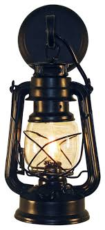 rustic lantern wall mounted light small style for outdoor