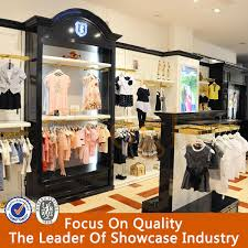 Custom Retail Store Display Cabinet Childrens Clothing Children Clothes
