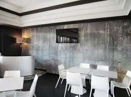 tapeten in betonoptik für ein interieur mit industriellem touch