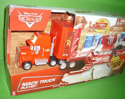 Disney/Pixar Cars 2014 *MACK TRUCK TRANSPORTER & PLAYSET 2 IN 1 ... Disney Pixar Cars Mack Truck Hauler Lightning Mcqueen Amazoncom Disneypixar Action Drivers Playset Toys Games Cstruction Videos 3 Buy Online From Fishpondcomau Dan The Fan 2 2010 New In Package Pixar Mack Truck Playset Hauler For Children Kids Car Xl Ft Store Semi Carrier Dj Byrnes Wash Cars Youtube Toy Mcqueen Story