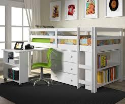 very practical loft bed shelf modern loft beds