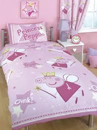 Peppa Pig Duvet Cover And Pillowcase Stars Design Kids Bedding