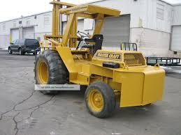 100 Mastercraft Truck Equipment 5000lb Cap Pneumatic Tire Forklift Diesel Power 48