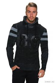 pull homme col montant ladiva fashion