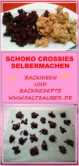 kuchen rezepte schoko crossies backen einfach kuchen