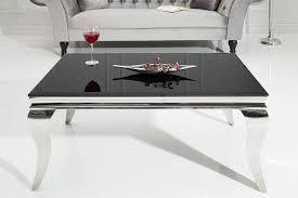 riess ambiente couchtisch modern barock 100cm schwarz tischplatte aus opalglas kaufen otto