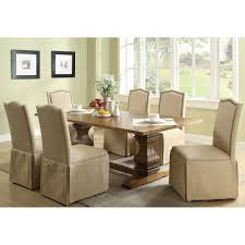 Dining Room Chair Slipcovers With Ties
