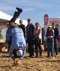 Morton Pumpkin Festival 2016 by Contestants Let It Fly At Annual Morton Punkin Chuckin Event