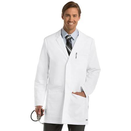 Grey's Anatomy Men's Lab Coat - S - White