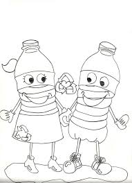 Recycle Coloring Pages 25983