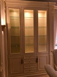 sehr hochwertig trüggelmann esszimmer vitrine spiegel kommode
