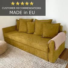 holmsund 3 sitz ikea sofa bettbezug