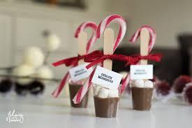 trinkschokolade am stiel kleine geschenke für weihnachten