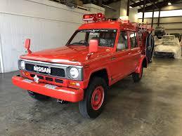1991 Nissan Safari Fire Truck - U0351 - MaxMotive