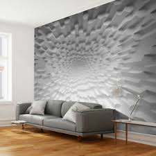 details zu vlies fototapete 3d effekt grau abstrakt tapete wandbilder wohnzimmer 30