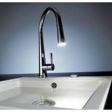 robinet noir cuisine mitigeur évier franke lumière avec mousseur extractible