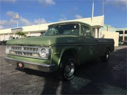 100 71 Dodge Truck 19 100 For Sale ClassicCarscom CC1066030