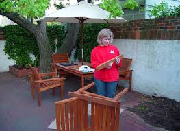 incredible outdoor teak patio furniture care of teak patio