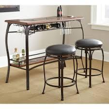 Steve Silver Dakota 3-Piece Counter Height Pub Table Set ...