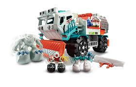 Amazon.com: Matchbox Big Boots Yeti Catcher Truck Vehicle: Toys & Games Amazoncom Wvol Big Dump Truck Toy For Kids With Friction Power Farm Iveco Recycle 116th Scale Acapsule Toys And Gifts Of The Week Heavy Duty Ride On Imagine Taco Lunch Tote Mouth Always Fits Dzking Rc Truck 118 Remote Contro End 12272018 441 Pm John Deere 38cm Scoop Big W Powworkermini Fire Vehicle Red Black Red Lepin 20076 Technic Series Set 42078 Building Blocks Radio Control Wheel Monster 4wd Rock Crawler 27mhz Car
