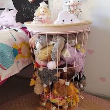 I Am Off To Kmart Grab This The Stuffed Puppies Are Taking Over HackKid PlayroomWire StorageTable StorageKids BedroomKids