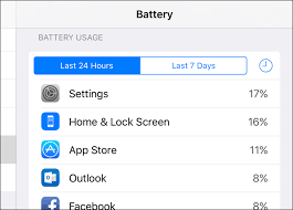 how to see which apps are draining your battery on an iphone or