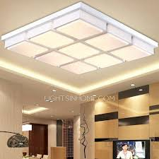 modern 28 7 inch wide acrylic shade living room ceiling light