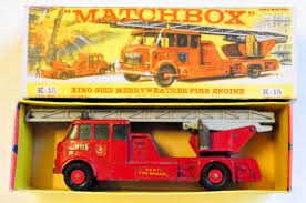 100 Matchbox Fire Trucks Merryweather Engine Model HobbyDB
