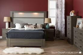 South Shore Libra 4 Drawer Dresser by South Shore Platform Bed South Shore Soho Collection Queen