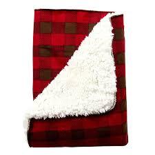 amazon com trend lab northwoods plush receiving blanket baby