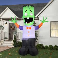 Walmart Halloween Blow Up Decorations by Gemmy Airblown Inflatable 12 U0027 X 9 U0027 Giant Monster Boy Halloween
