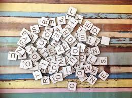 Printable Individual Scrabble Tiles by Alphabet Letter Tiles Engraved Laser Cut Scrabble Lazercraft