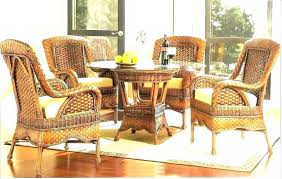 Full Size Of Wicker Dining Room Chairs Rattan With Casters Next Table House Home Living Excellent