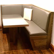 Corner Kitchen Booth Ideas by Corner Kitchen Table With Storage Cupboard Ideas Brown Counter