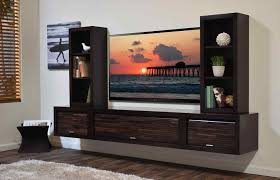 Floating Shelves Entertainment Center It Yourself Homemade Cabinet Decorating Around A Wall Mounted Tv Ikea