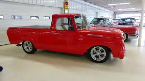 1961 Ford F-100 Pickup Stock # 121964 For Sale Near Columbus, OH ... 1961 Ford F100 Classics For Sale On Autotrader Unibody Pickup Has A Hot Rod Attitude Network 1962 12 Ton Values Hagerty Valuation Tool New Spy Shots Show Courier Small Testing Project F 100 Beautiful Red Truck Sale In Oklahoma City Considered Based Focus C2 O Canada Mercury M100 5 Practical Pickups That Make More Sense Than Any Massive Modern Ranchero Considers Small Unibody Pickup Truck Autoblog
