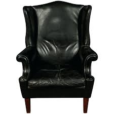 Black Wingback Chair Vintage Leather Armchair Furniture Black ... Fniture White Line Slipcover For Wing Chair Capvating Bedroom Astonishing Recliner Elegant Home Slip Covers Linen Wingback Black Arm Emerald And Amazoncom Tikami Slipcovers 2piece Spandex Stretch Purple Patterned Decofurnish Red Armless Room With Unique Richness Cover Intended Satisfying Petite Pottery Barn Modern Chairs Leather Grey Turquoise Double Diamond White Black Linen Wingback Slipcover Having Short Wooden Legs Pique Raven 710