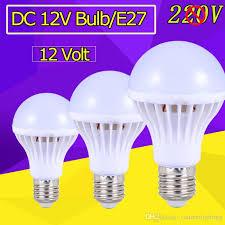 e27 energy saving led bulb lights dc 12v e27 led l 3w 5w 9w 12w