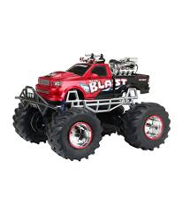 100 New Bright Rc Truck 18 Scale RC 4 X 4 Mega Blast Car Red Black Buy