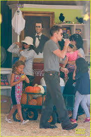Jerry Smith Pumpkin Farm Babies And Berries by Olivier Martinez Steps Out After Halle Berry Gave Birth To Son