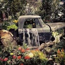 Turn A Vintage Truck Into Beautiful Garden Waterfallthese Are The BEST