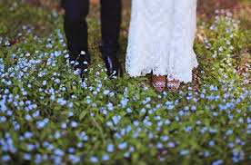 Rustic Mansion Wedding Blue Bells