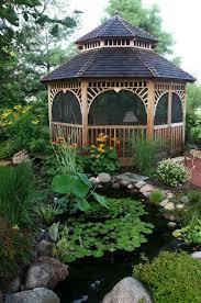 Stunning Screened Gazebo Photos by Best 25 Enclosed Gazebo Ideas On Garden Buildings