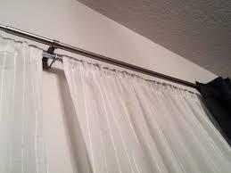 Telescoping Drapery Rod Kit by Tension Curtain Rods Ikea Homesfeed
