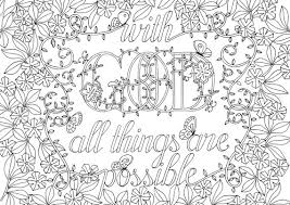 Spectacular Idea Adult Bible Coloring Pages Verses Top