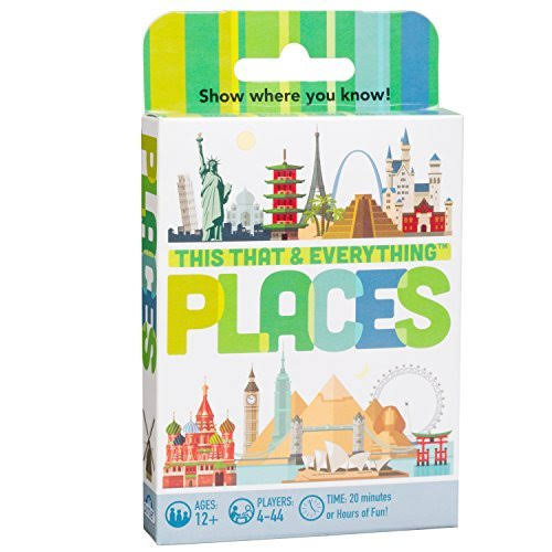 Outset This That & Everything Card Game - Places