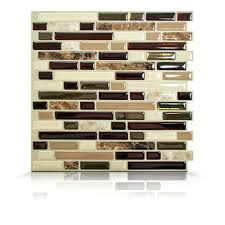 self stick tiles for backsplash kitchen faux vinyl tile