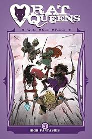 Rat Queens Vol 4 High Fantasies By Kurtis J Wiebe