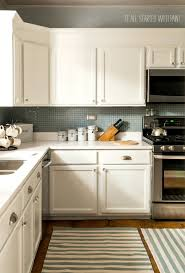 Sage Colored Kitchen Cabinets by Before And After Painted Kitchen Cabinets Behr Paint Colors